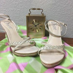 Dior Sandals Ivory color 36 1/2